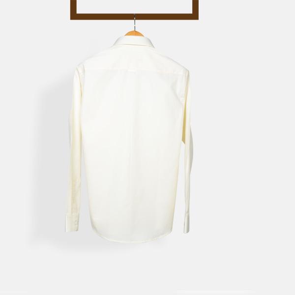 Cream Woven Shirt-mbview-2