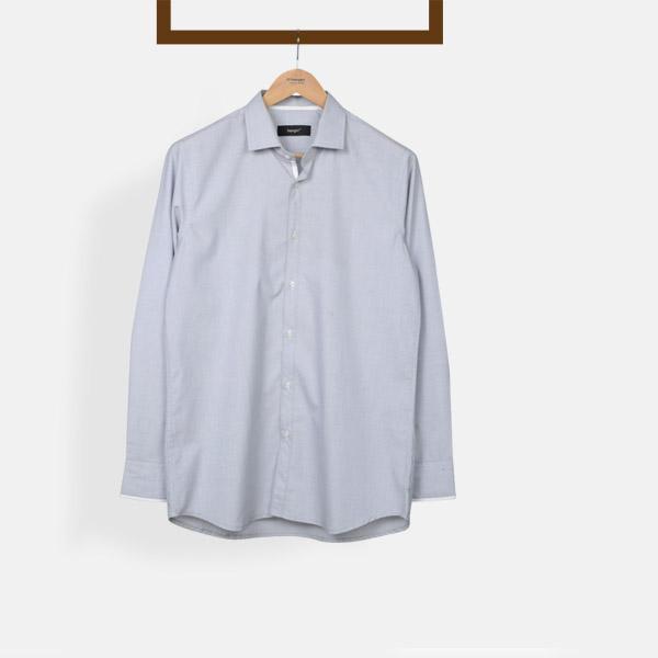 Grey Fil-a-Fil Shirt-mbview-main