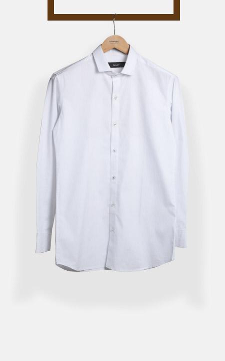 Classic Blue Pinstripes Shirt