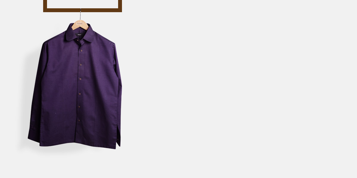 Purple Microweave Shirt- view-1