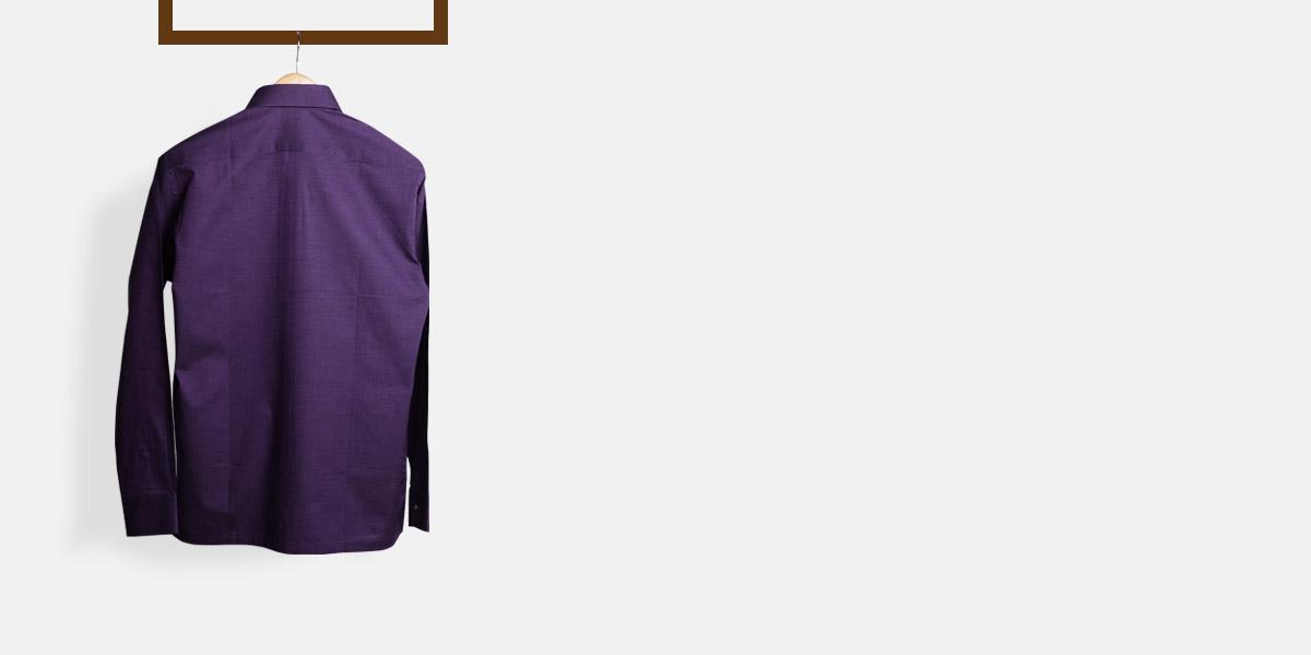 Purple Microweave Shirt- view-2