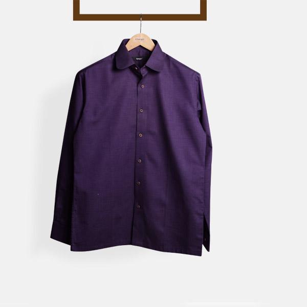 Purple Microweave Shirt-mbview-1
