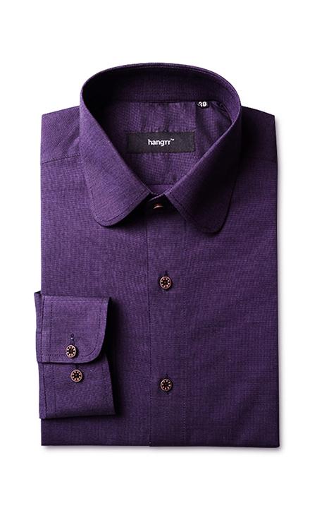 Purple Microweave Shirt
