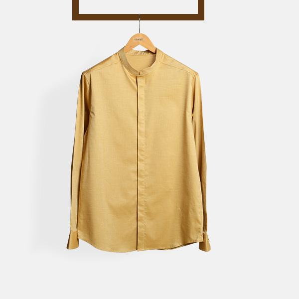 Oxford Brown Henley Shirt-mbview-main