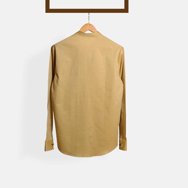 Oxford Brown Henley Shirt-mbview-2