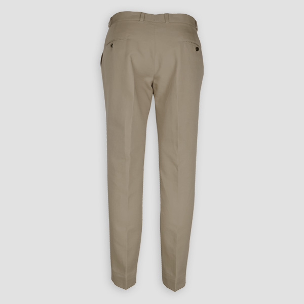 Pebble Brown Cotton Pants-mbview-2