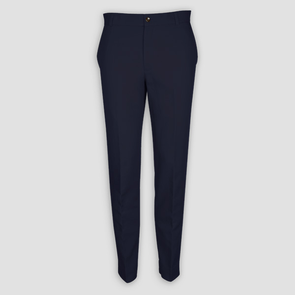 Navy Cotton Pants-mbview-1