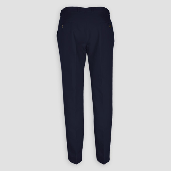 Navy Cotton Pants-mbview-2