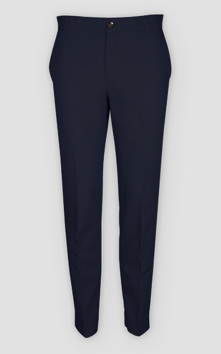Navy Cotton Pants