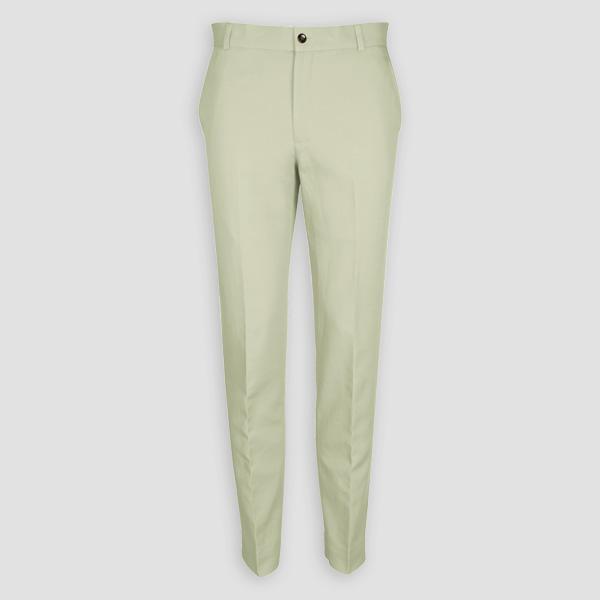 Sage Green Cotton Pants-mbview-1