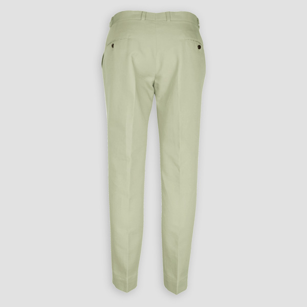 Sage Green Cotton Pants-mbview-2