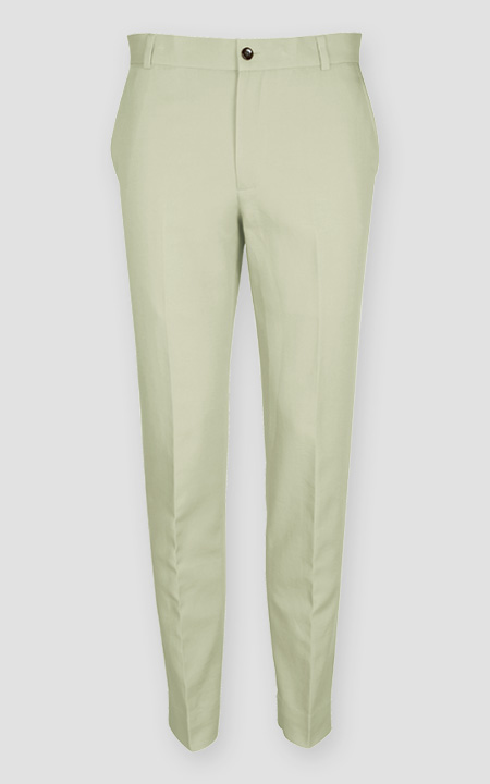 Sage Green Cotton Pants