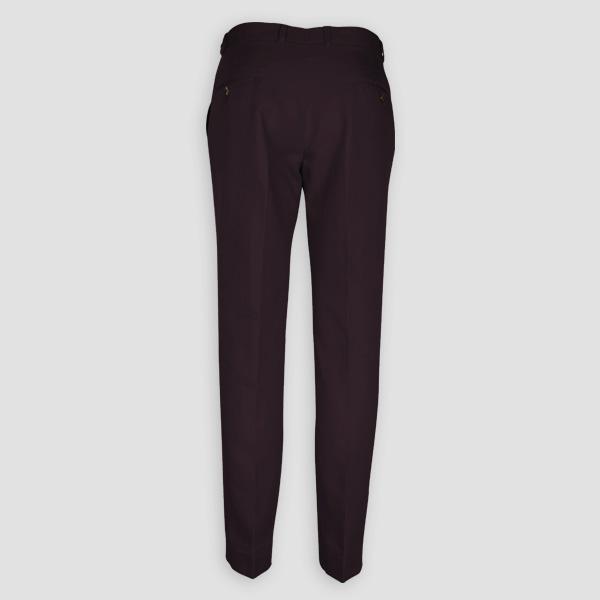 Burgundy Cotton Pants-mbview-2