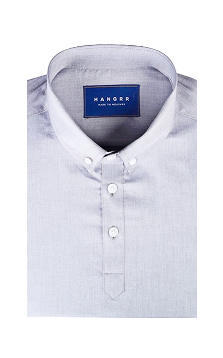 Grey Chambray Imperial Polo Shirt