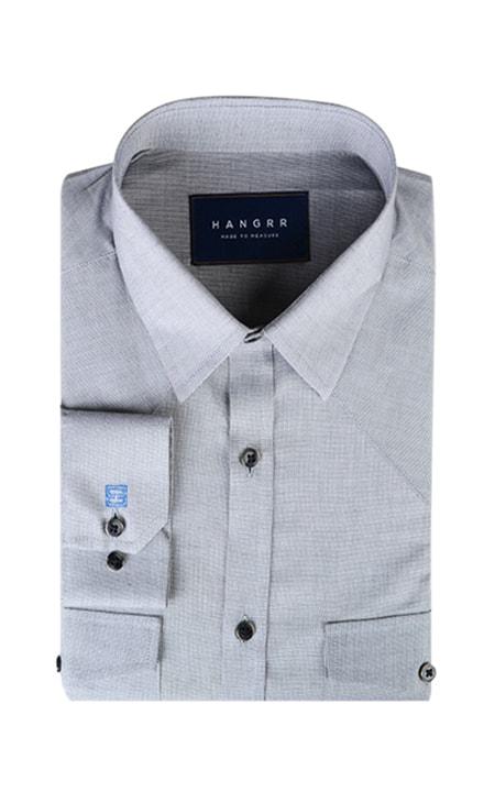 Giza Oxford Grey Shirt