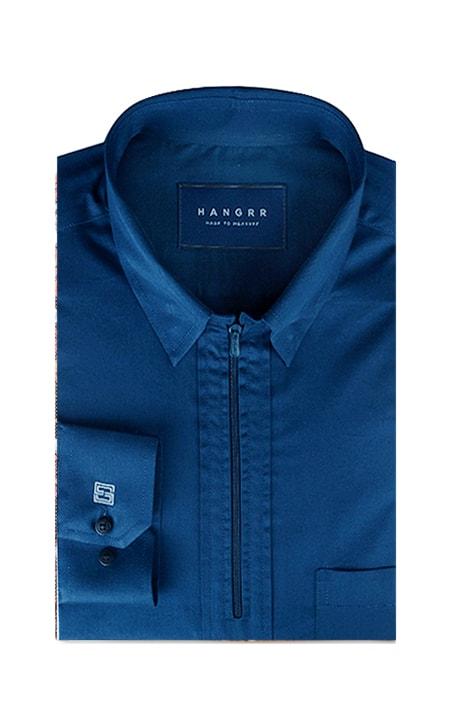 Deep Blue Golf Shirt