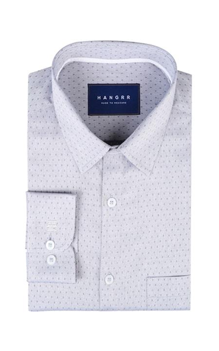 Gray Basketweave Shirt